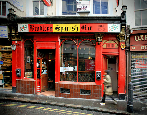 Bradleys Spanish bar Londres