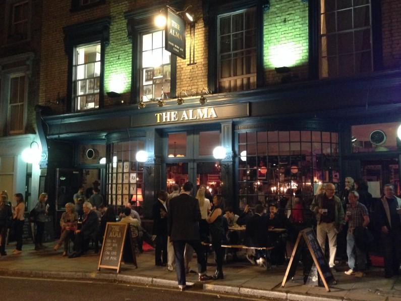 alma pub london
