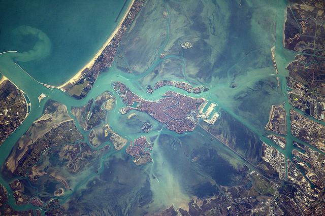 Venise depuis l'ISS