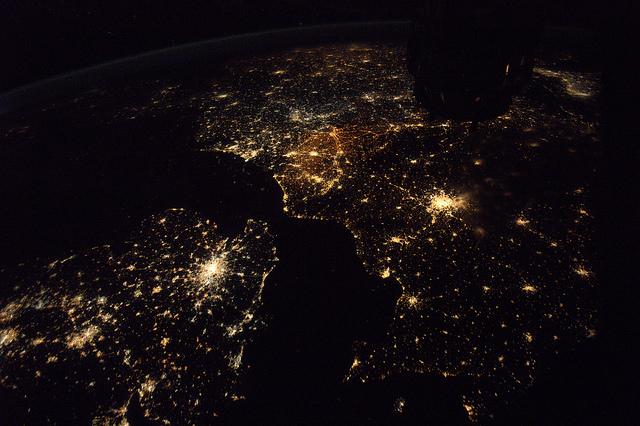 europe vue du ciel