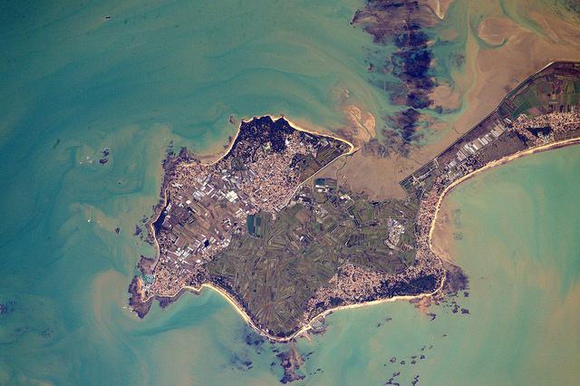 Noirmoutier vue du ciel