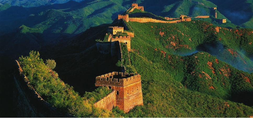 muraille jinshanling - murs de chine