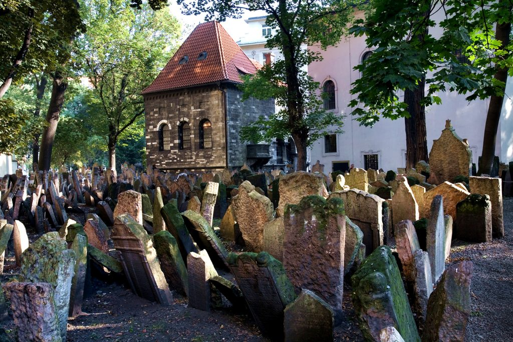 cimetiere juif a Josefov - Prague