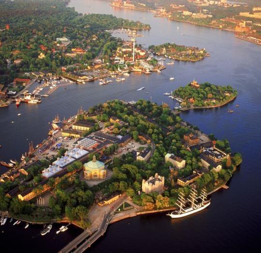 skeppsholmen - pont stockholm