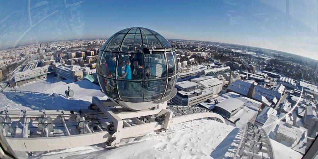 skyview ericsson globe stockholm suede