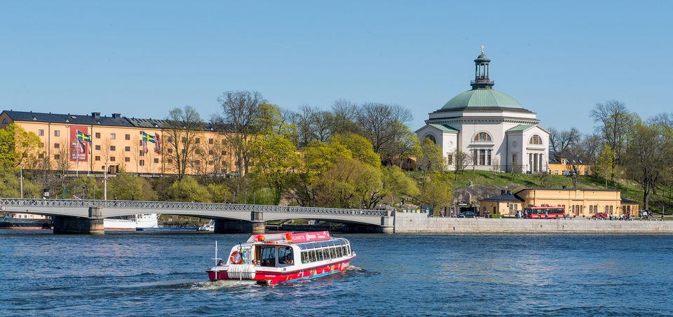 tour de Stockholm en bateau