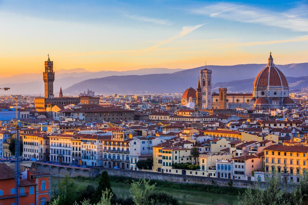 la belle ville de Florence en Italie