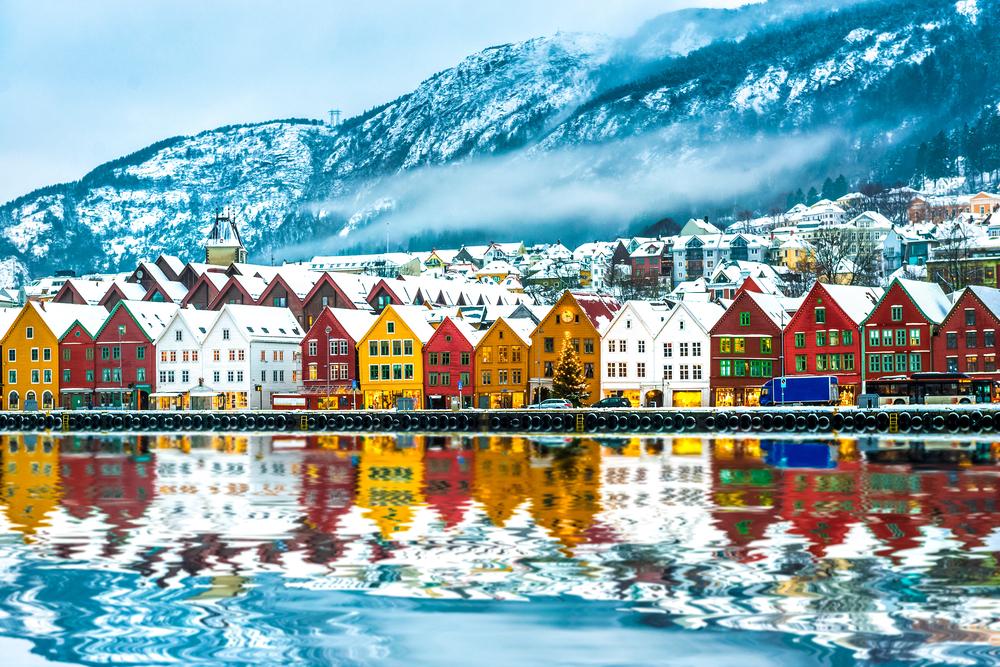 Bergen en Norvege