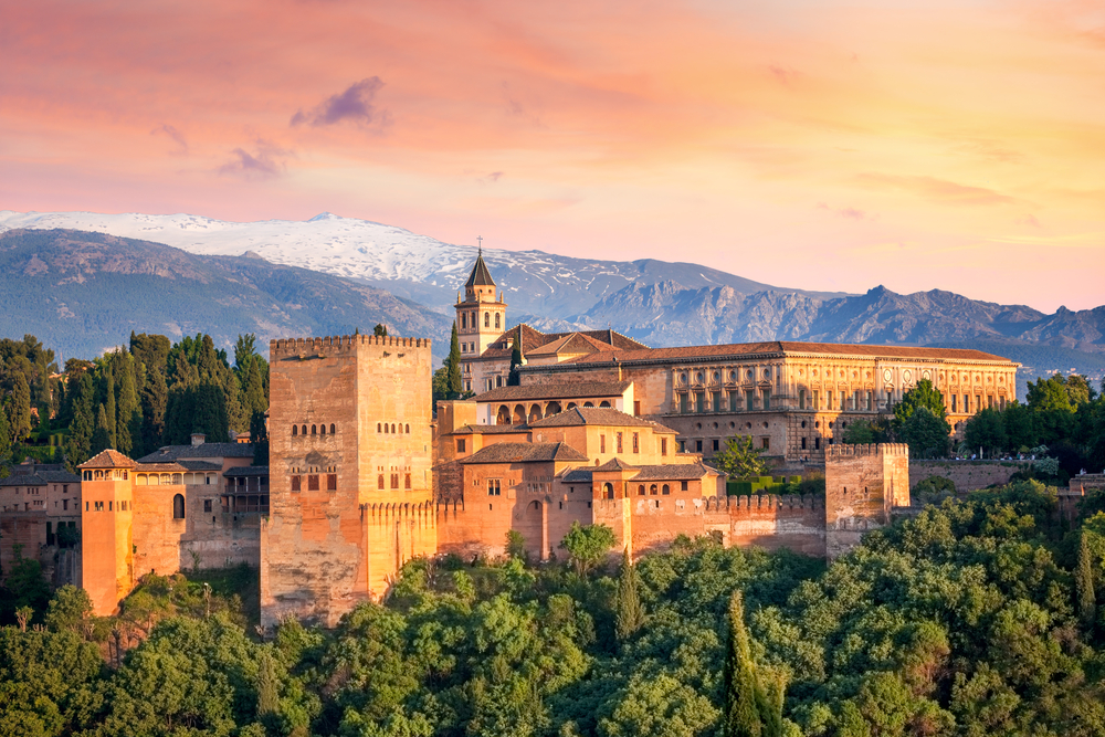 L'Alhambra à Grenade en Andalousie