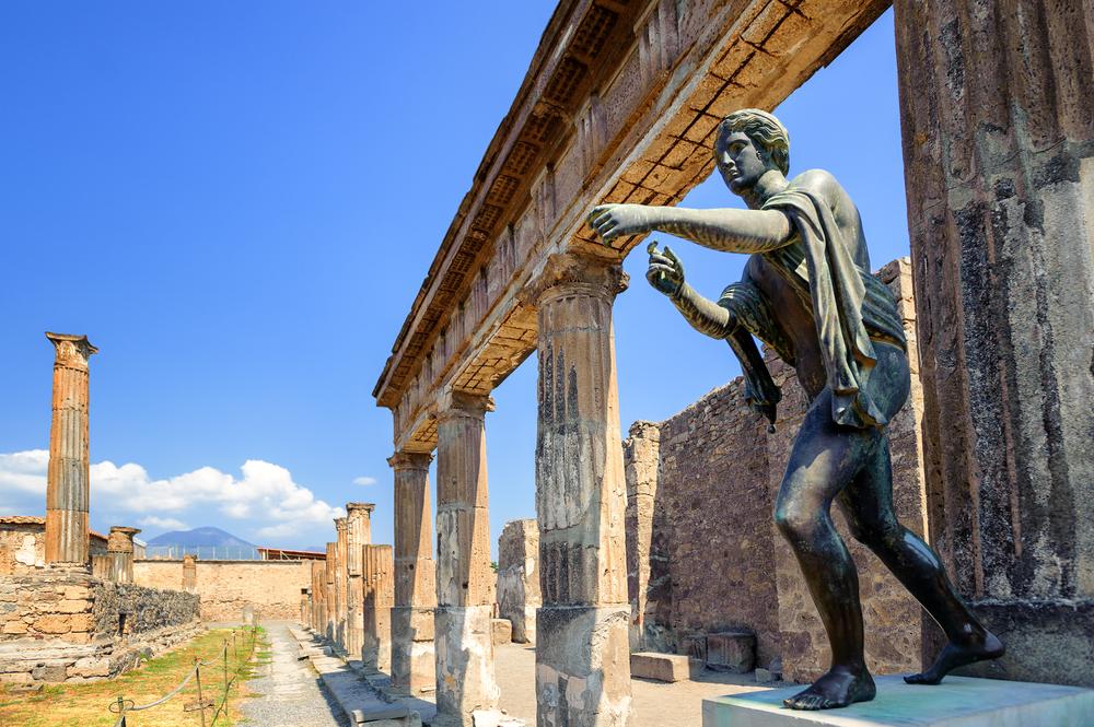 Pompéi dans le sud de l'Italie