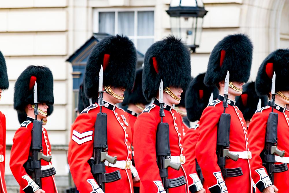 Les gardes de Buckingham Palace