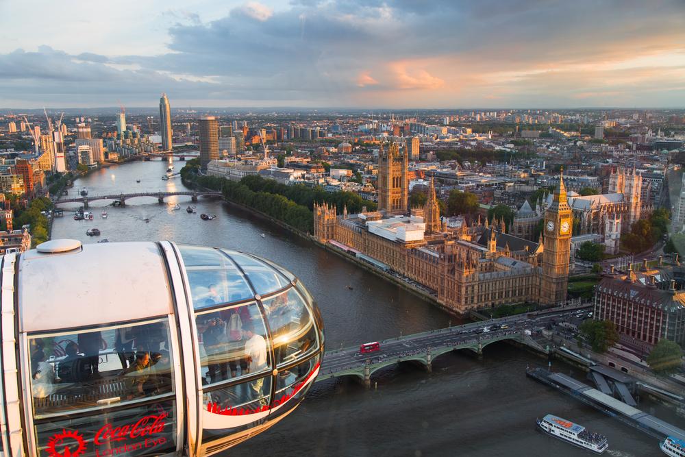 la grande roue du London Eye