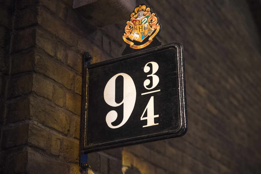 Le Quai 9 3/4 de J.K. Rowling