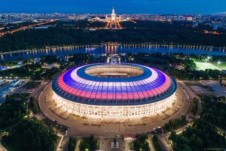 Stade Loujniki Moscou - Стадион Лужники
